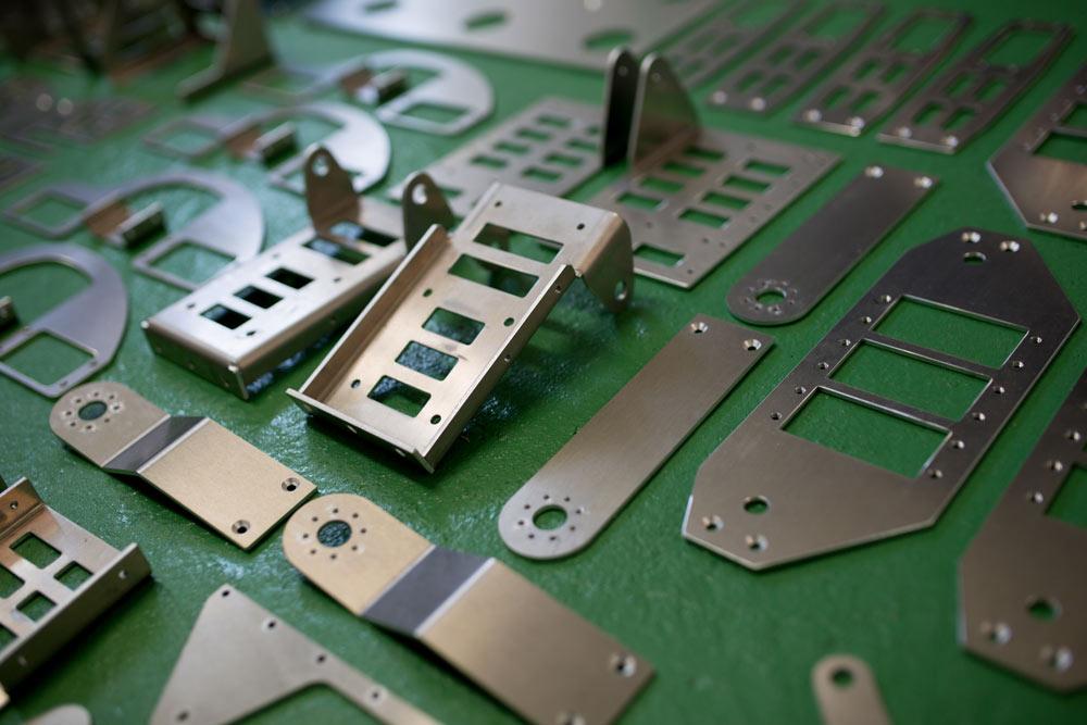 Professionelle Fertigung individueller Blech- und Stahlzuschnitte